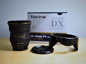 Tokina AF 12-24 f4 - nikon mount