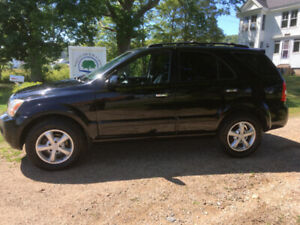 2007 KIA SORENTO LX LUXURY 4x4,ONE OWNER FROM NEW,DVD SCREENS