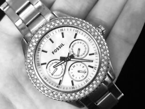 Stainless Steel Women's Fossil Watch for sale