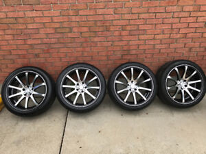 NEW - 245/40 R18 & 265/35 R18 Continental Extreme Contact DWS 06