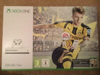 SEALED Xbox One S (White) Brand New with Fifa 17 Full Game Download + 1 Month EA Access