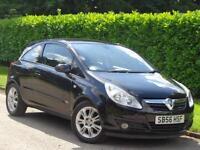 Vauxhall Corsa 2007 1.2i 16v ( a/c ) Design***LOW MILES + LONG MOT***