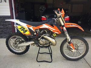 KTM SX250 Woods Conversion