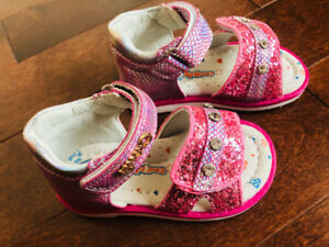 ORTHOPEDIC SHOES LEATHER GIRLS SANDALS WITH ARCH SUPPORT