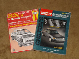 Dodge - Plymouth 4-cylinder FWD manuals