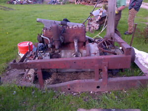 antique Mack truck motor model-AB year-1929?
