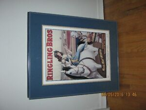 1917 Barnum and Bailey Ltd Edition Print-Frame is 26in x 20.75in