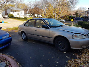 2000 Honda Civic Sedan Winter & summer tires/rims