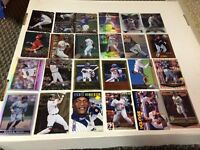 Baseball parallel insert cards- lot of 24