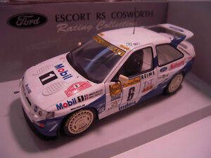 1/18 DIECAST UT FORD ESCORT RS COSWORTH WRC RALLY MINT MEGA RARE