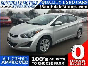2015 HYUNDAI ELANTRA POWER GROUP * SAT RADIO SYSTEM * LIKE NEW London Ontario image 1