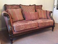 Pemberley 3 piece suite & footstool (Barker & Stonehouse)