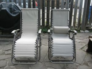 Zero Gravity Lawn Chairs