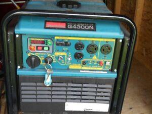 Génératrice Makita 4300 watts, modèle G4300N