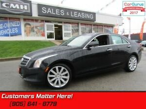 "2014 Cadillac ATS 2.0 Turbo Luxury  AWD, NAV, CUE, ROOF, 18""-WHE"