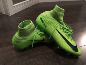 Mercurial soccer cleats with sock for sale