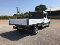 Ford Transit 350 L3 DOUBLECAB TIPPER 125PS EURO 5 DIESEL MANUAL WHITE (2016)