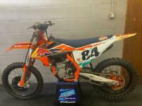 KTM SXF 450, HERLINGS REPLICA 2019, 1.0 hrs USE ONLY