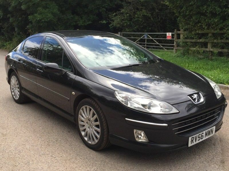 Peugeot 407 GT exclusive 2.7 v6 black auto diesel fully loaded