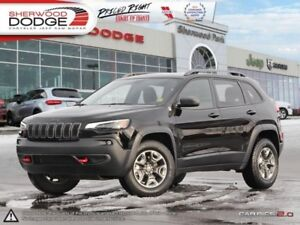 2019 Jeep Cherokee Trailhawk  | HEATED/VENTED SEATS | SUNROOF