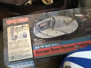 3/4 hp garage door opener