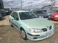 2002/02 Nissan Almera 1.5 S LONG MOT EXCELLENT RUNNER