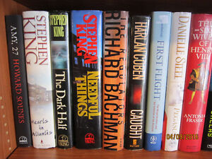 Several Stephen King Hard & Soft Cover Books $2 to $6 Each!!