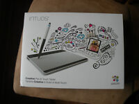 New in the box Intuos Creative Pen and Touch Pad