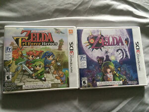 Zelda 3ds games