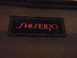 Shiseido black mesh makeup pouch bag handbag Brand new London Ontario image 2