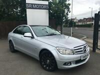 2008 Merc-Benz C220 2.1TD auto CDI Elegance(PANROOF,SAT/NAV,LEATHER SEATS)