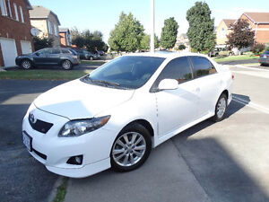 2010 Toyota Corolla s Brand New Condition Safety Certified