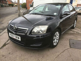 2007 Toyota Avensis 2.0 D-4D Colour Collection diesel 94,000 miles full history