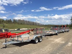 Haul With Confidence! N&N Hot Dip Galvanzied Utility Trailers.