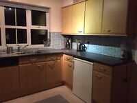 Kitchen for sale plus hob fridge dishwasher