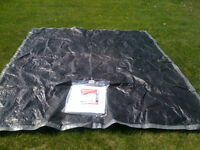 2 LARGE TARPS one new in package construction grade