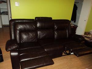 sofa causeuse divan en cuire