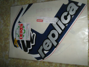 Derbi gpr replica pochette sticker  caja madrid