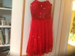 Two beautiful Christmas dresses $25 each for teen girls Edmonton Edmonton Area image 1