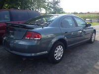 CHRYSLER SEBRING 2006 AUTOMATIQUE 169,000KM