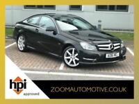 2011 MERCEDES C220 COUPE 2.1 CDi AMG Sport Edition 125 C CLASS COUPE 55000 MILES