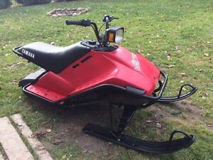 Sno scoot kijiji free classifieds in ontario find a for Yamaha sno scoot
