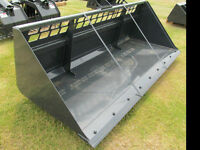 NEW SKID STEER ATTACHMENTS STUMP GRINDER FORKS GRAPPLES AUGERS