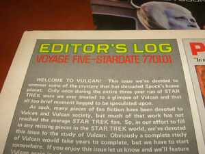 Vintage - Star Trek - The Original Series - giant poster books Stratford Kitchener Area image 8