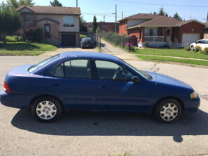 2001 Nissan Sentra runs great