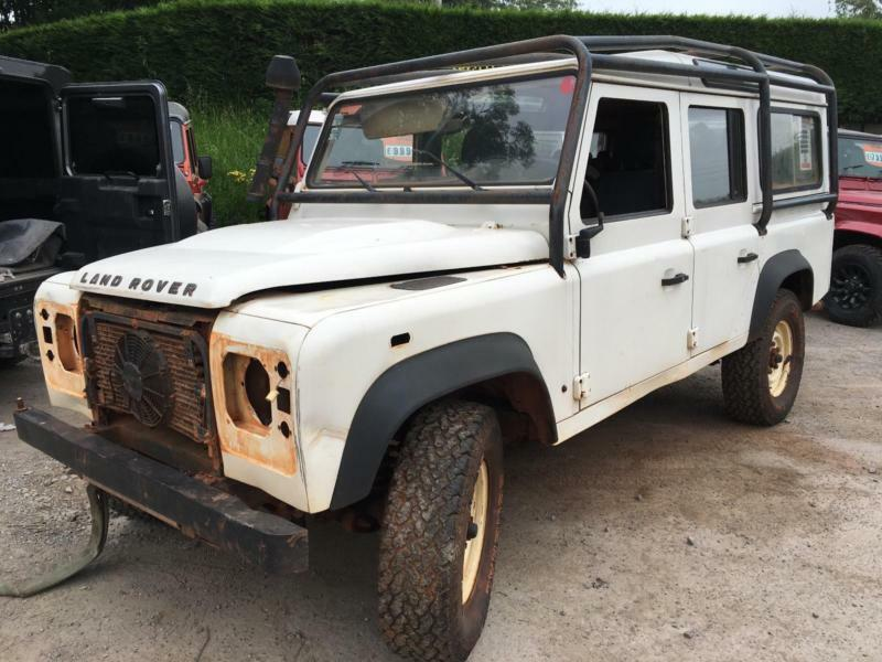 Breaking Land Rover Defender 110 90 County Station Wagon