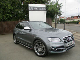 2013 Audi SQ5 3.0 BiTDI ( 313ps ) quattro Tiptronic(TOP SPEC,TWO TONE LEATHER)