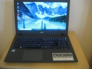 "15.6"" Acer Touch Laptop, Intel Core i5-6200U, 8 GB RAM, 1 TB HDD"