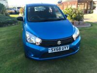 2018 68 Suzuki Celerio 1.0 SZ2 Petrol Blue 5 Door £0 ROAD TAX, VERY LOW MILES!
