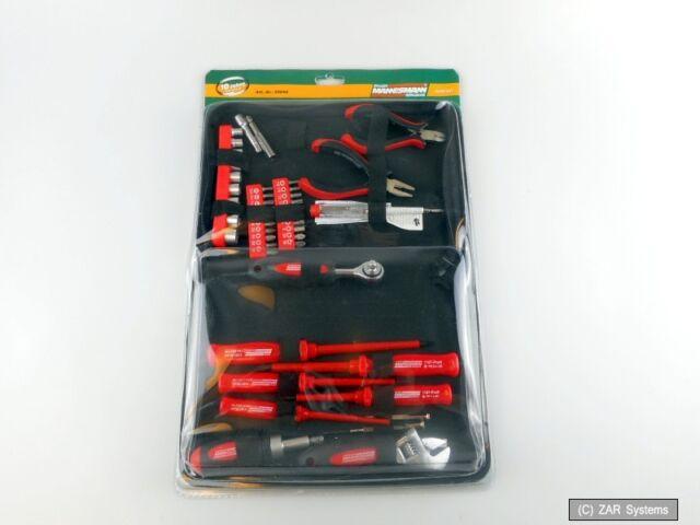 Mannesmann M29044 45-tlg. Elektronik Werkzeugsatz Tool Kit mit Tasche, NEU